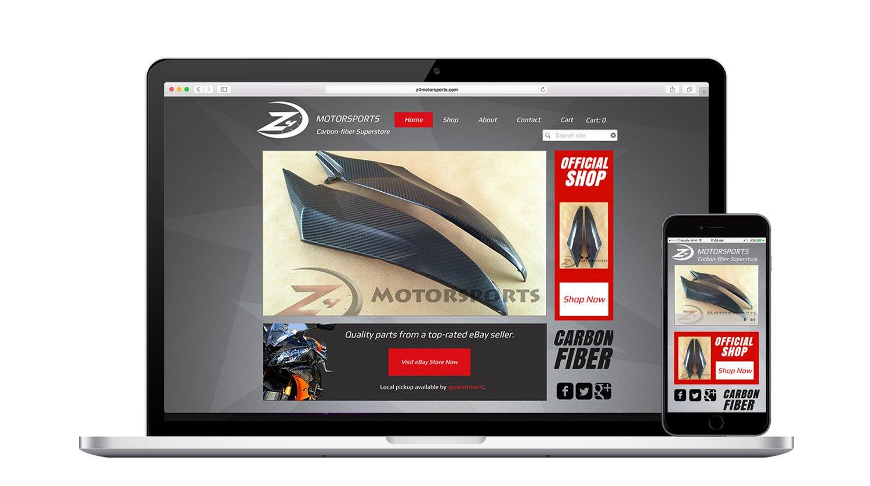 Z4 Motorsports Responsive Website
